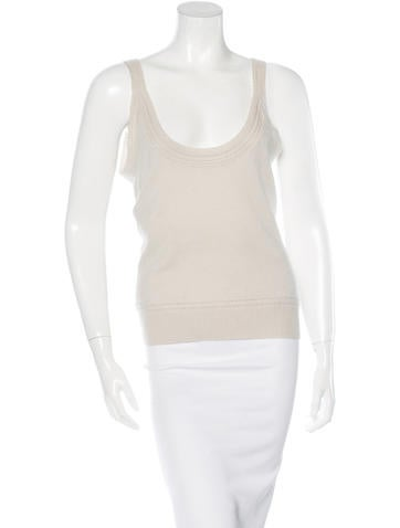 Carolina Herrera Sleeveless Knit Top None