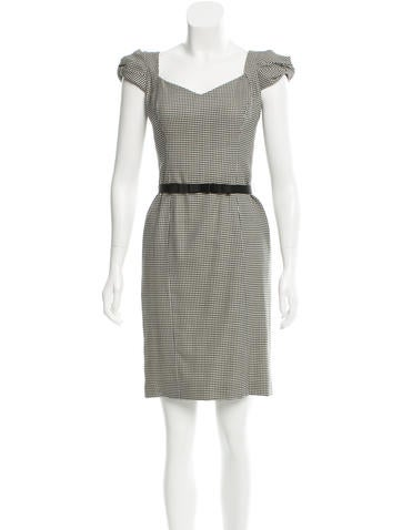 Carolina Herrera Wool & Silk-Blend Dress None