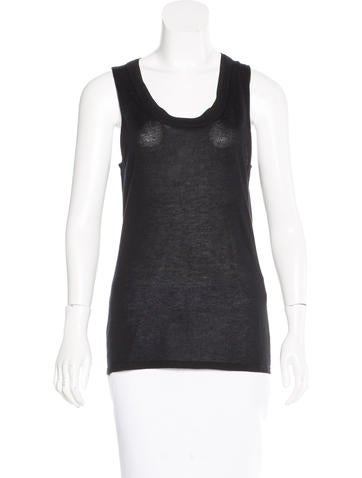 Carolina Herrera Sleeveless Cashmere Sweater w/ Tags None