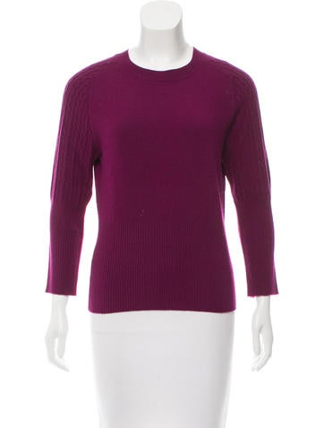 Carolina Herrera Cashmere Crew Neck Sweater None