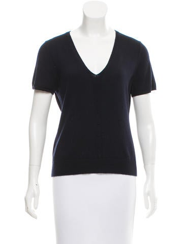 Carolina Herrera Cashmere Knit Top None