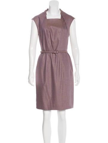Carolina Herrera Wool Knee-Length Dress None