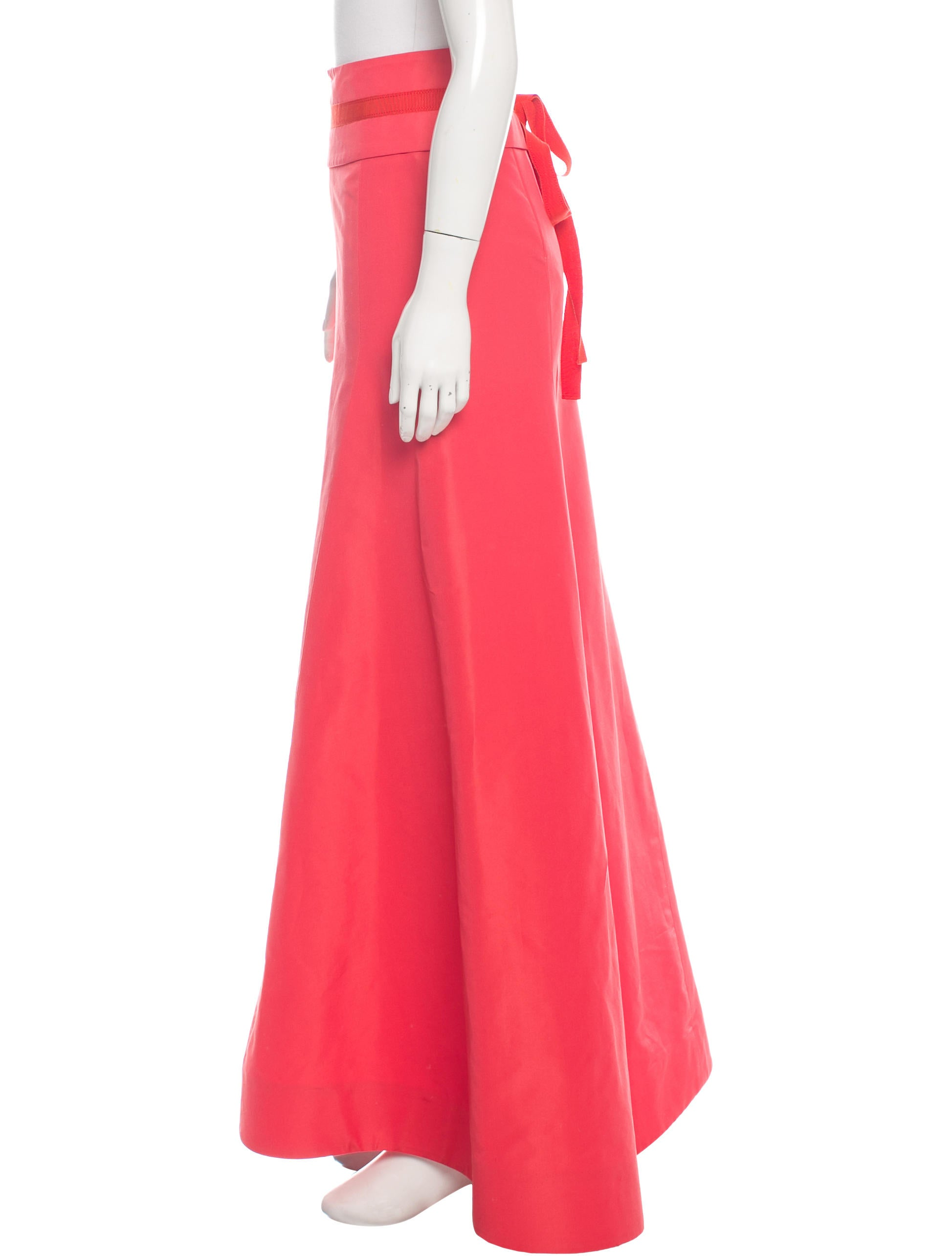 carolina herrera evening maxi skirt clothing cao28804