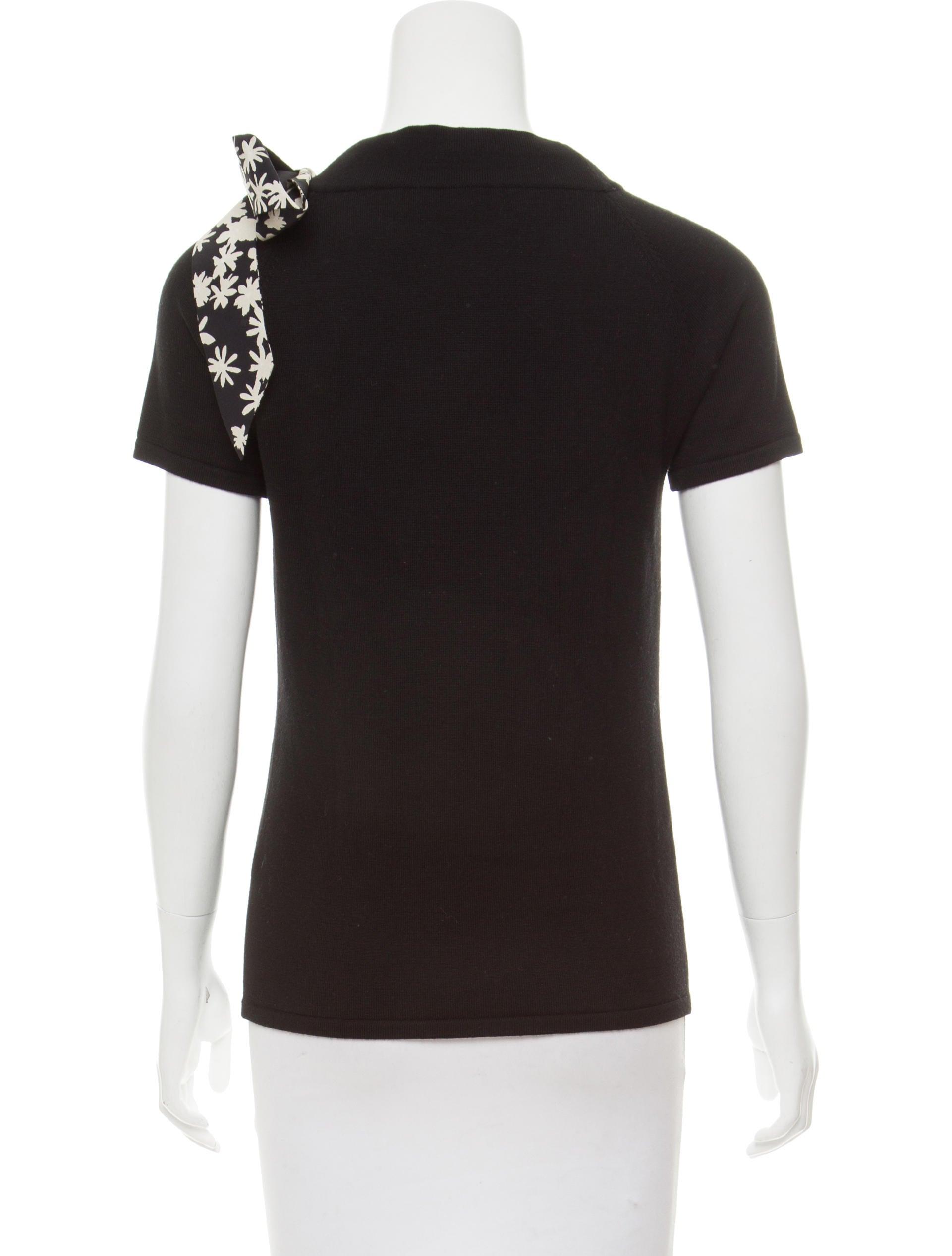 Carolina herrera wool knit top w tags clothing for Best wool shirt jackets