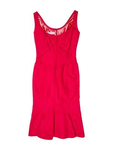 Carolina Herrera Sleeveless Midi Dress None