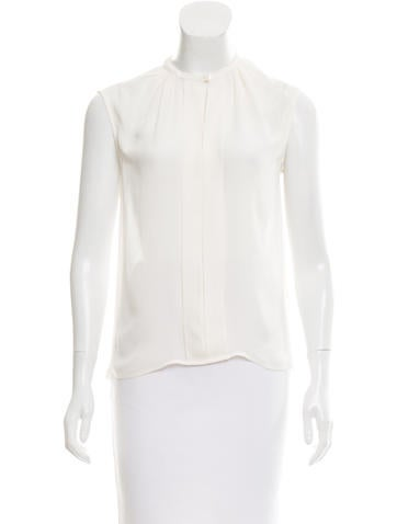 Carolina Herrera Sleeveless Button-Up None