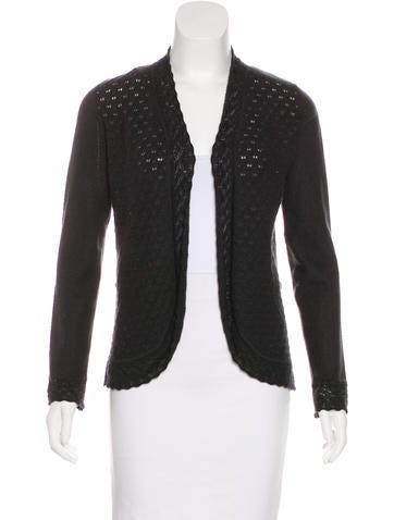 Carolina Herrera Cashmere & Silk-Blend Cardigan None
