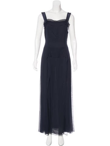 Carolina Herrera Silk Sleeveless Dress None