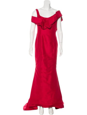 Carolina Herrera Sleeveless Evening Dress None