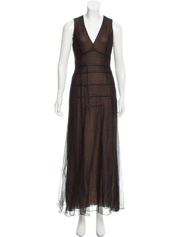 Carolina Herrera Sleeveless Evening Dress None