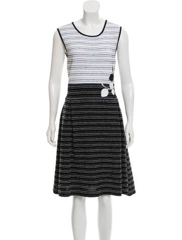Carolina Herrera Sleeveless Midi Dress None