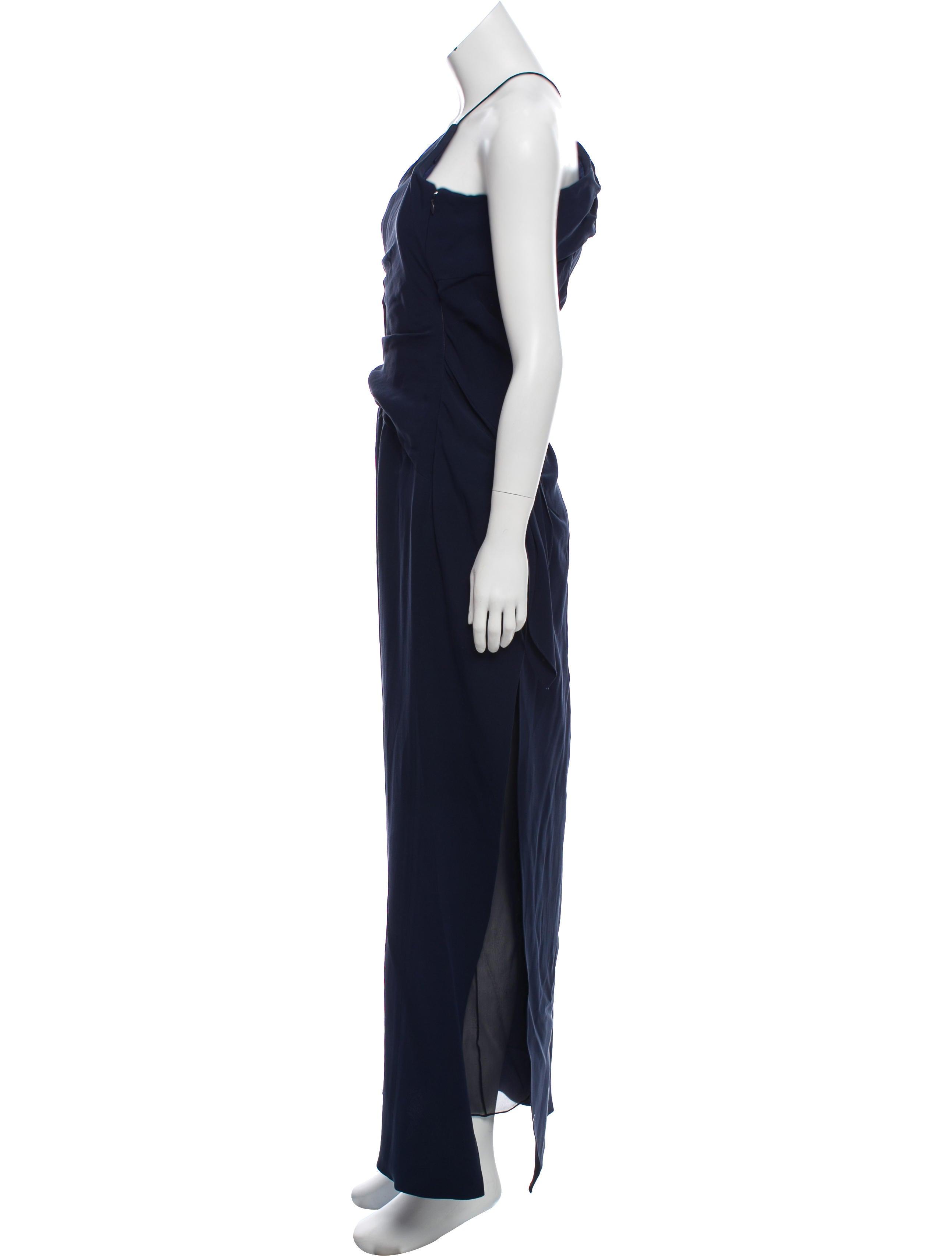 Carolina Herrera Carolina Herrera Silk Evening Dress - Clothing ...