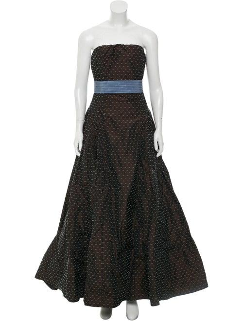 Carolina Herrera Strapless Ball Gown