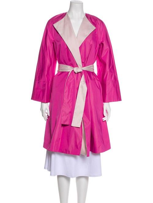Carolina Herrera Trench Coat Pink