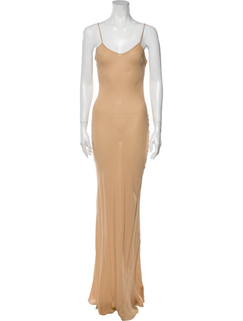 Carolina Herrera Silk Long Dress