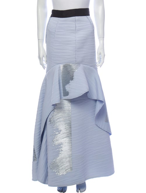 Carolina Herrera Long Skirt Blue