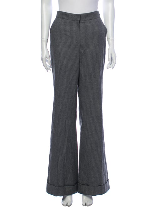 Carolina Herrera Wide Leg Pants Grey