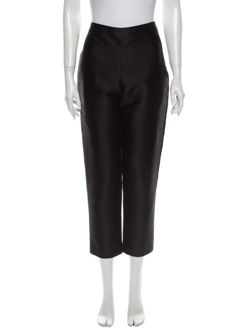Carolina Herrera Straight Leg Pants Black