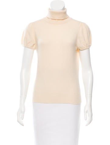 Carlos Miele Wool Turtleneck Top None