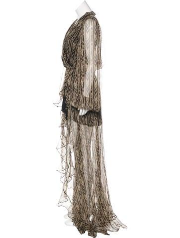 Olivia Silk Gown w/ Tags