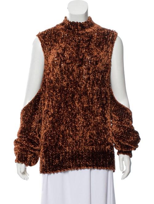 Caroline Constas Chenille Knit Top