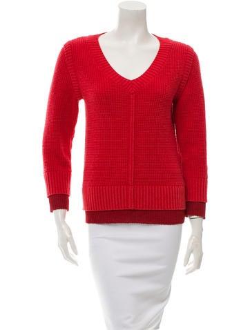 Chris Benz Cashmere Rib Knit Sweater None