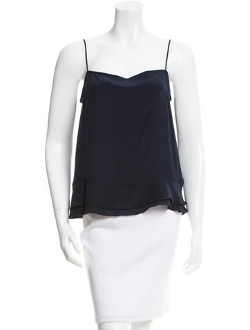 Chris Benz Silk Sleeveless Top None