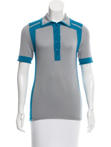 Chris Benz Cashmere Short Sleeve Top None