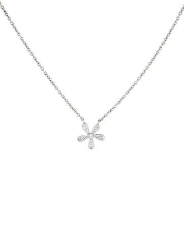 Cathy waterman platinum diamond flower pendant necklace necklaces platinum diamond flower pendant necklace aloadofball Gallery