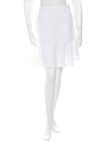 Carven Flounce Hem Skirt w/ Tags None
