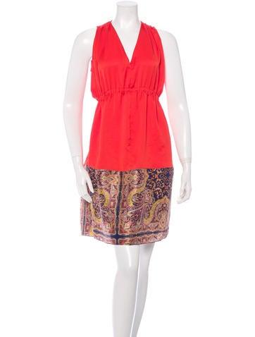 Carven Sleeveless Knee Length Dress