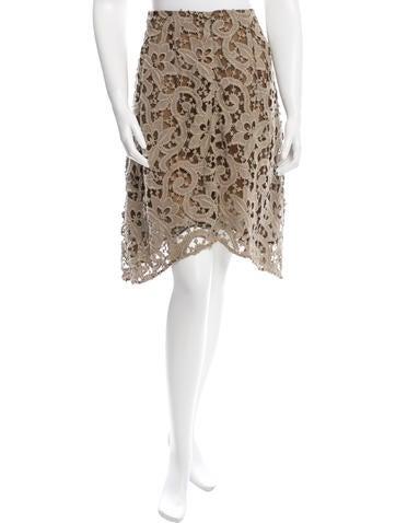 Carven Asymmetrical Knee-Length Skirt None