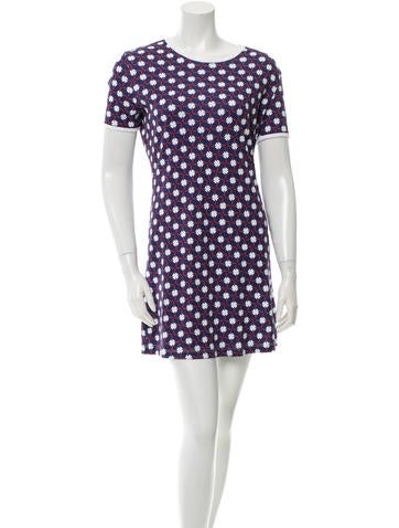 Carven Abstract Print T-Shirt Dress None