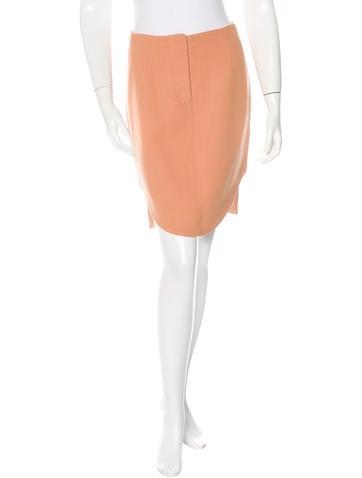 Carven Asymmetrical Mini Skirt None
