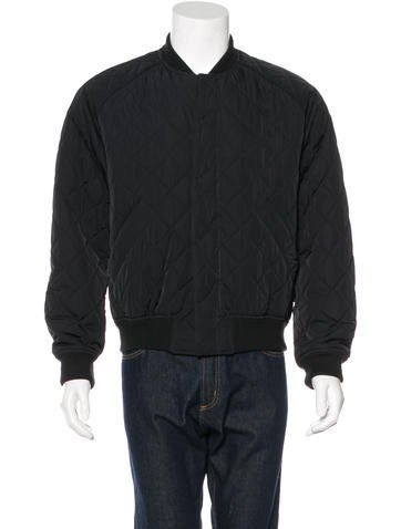 Carven Quilted Bomber Jacket None