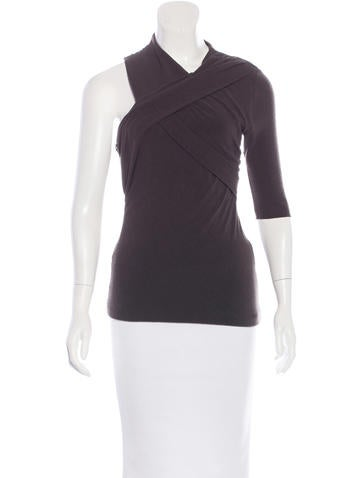 Wool Asymmetrical Top