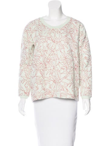 Carven Embroidered Oversize Sweater None