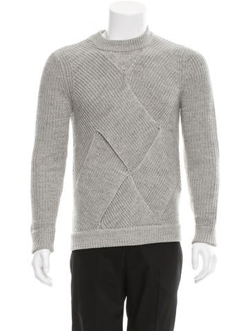 Carven Wool Crew Neck Sweater None