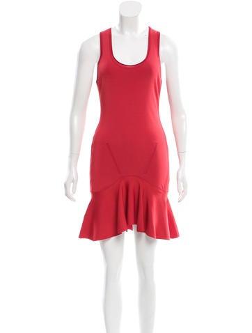 Carven Sleeveless Mini Dress None
