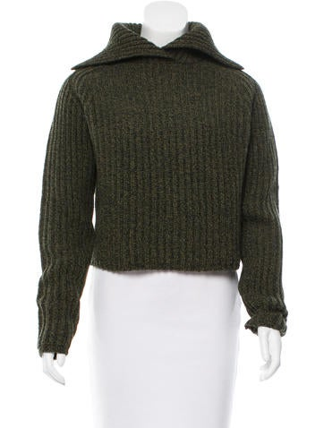 Carven Wool Turtleneck Sweater None