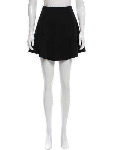 Carven Wool Mini Skirt None