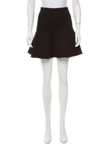 Carven Mini A-Line Skirt None