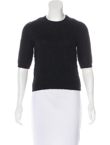 Carven Knit Crop Top None