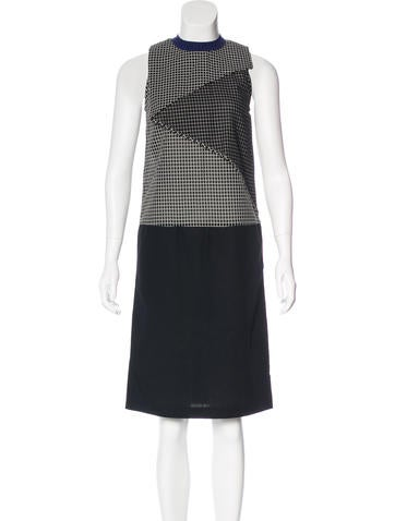 Carven Patterned Sleeveless Dress None