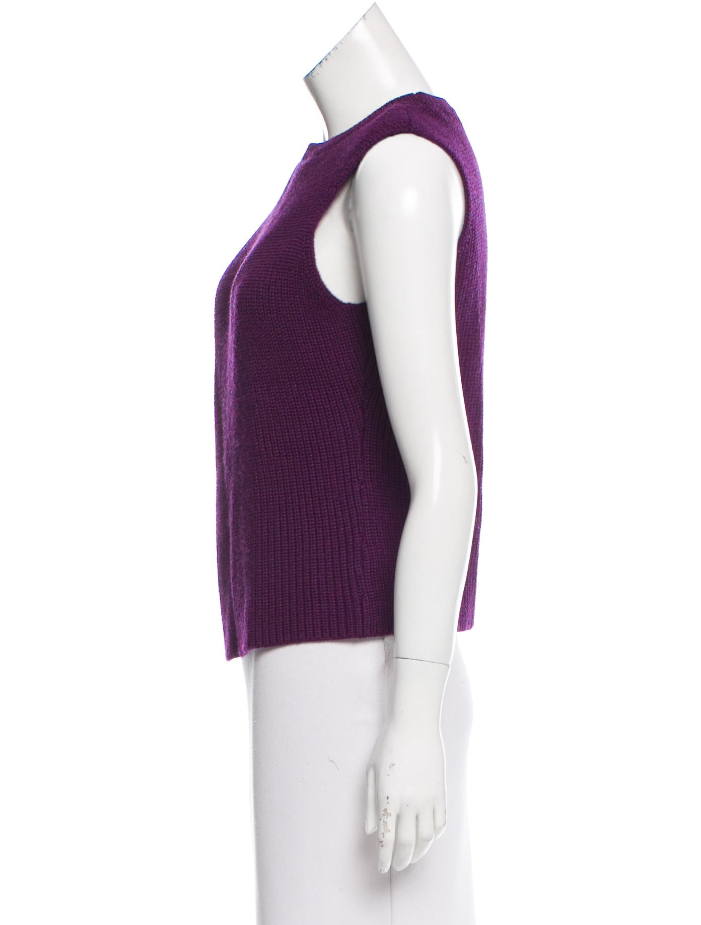 Carven wool cable knit top clothing cav26526 the for Best wool shirt jackets