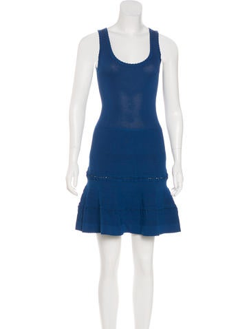 Carven Sleeveless Fit And Flare Dress None