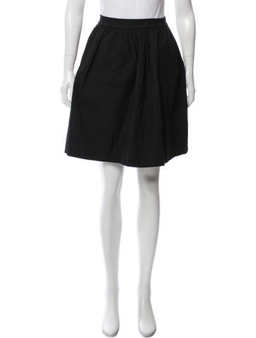 Carven Knee-length A-Line Skirt None