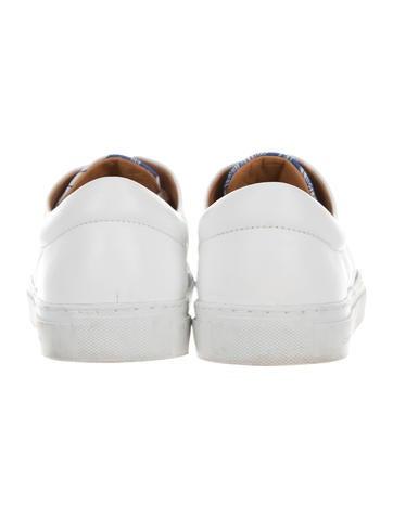 Printed Low-Top Sneakers