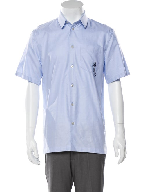 Carven Short Sleeve Shirt Blue
