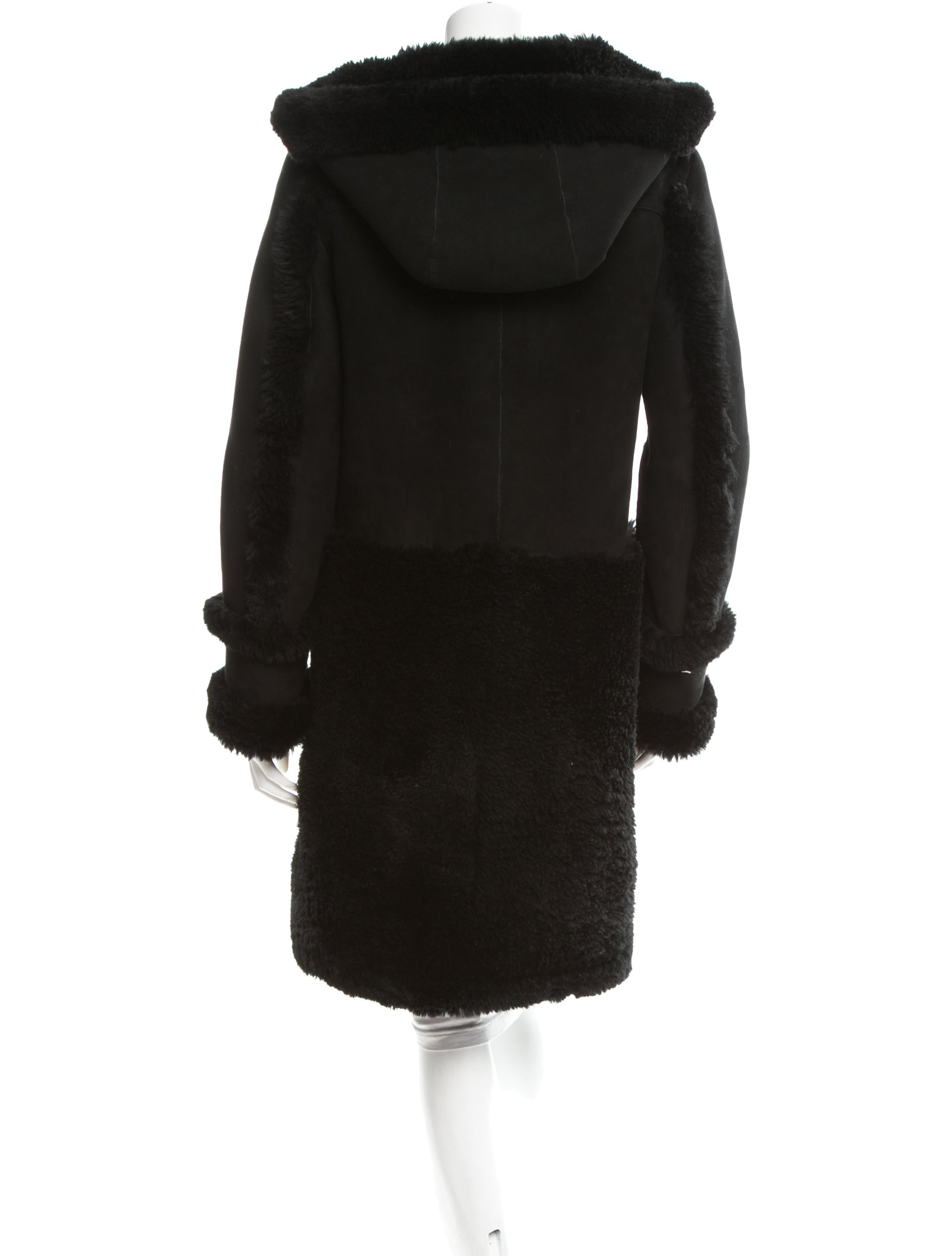 Coach Shearling Duffle Coat - Clothing - CCH20086 | The RealReal